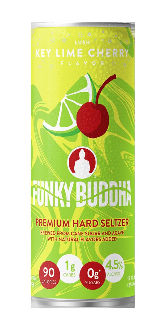 Funky Buddha Premium Hard Seltzer Key Lime Cherry