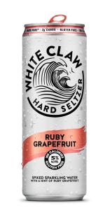 White Claw Ruby Grapefruit Hard Seltzer