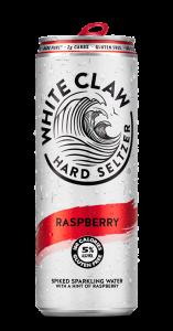 White Claw Raspberry Hard Seltzer