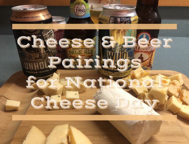 Beer and Cheese Pairings for National Cheese Day