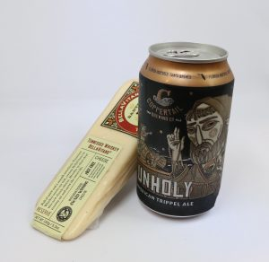 Coppertail Brewing Unholy Trippel with Tennessee Whiskey Bellla Vitano
