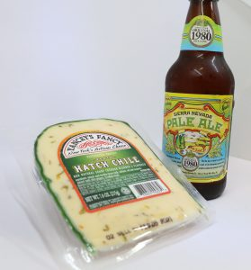 Sierra Nevada Pale Ale with Yancey's Fancy Hatch Chile Cheddar