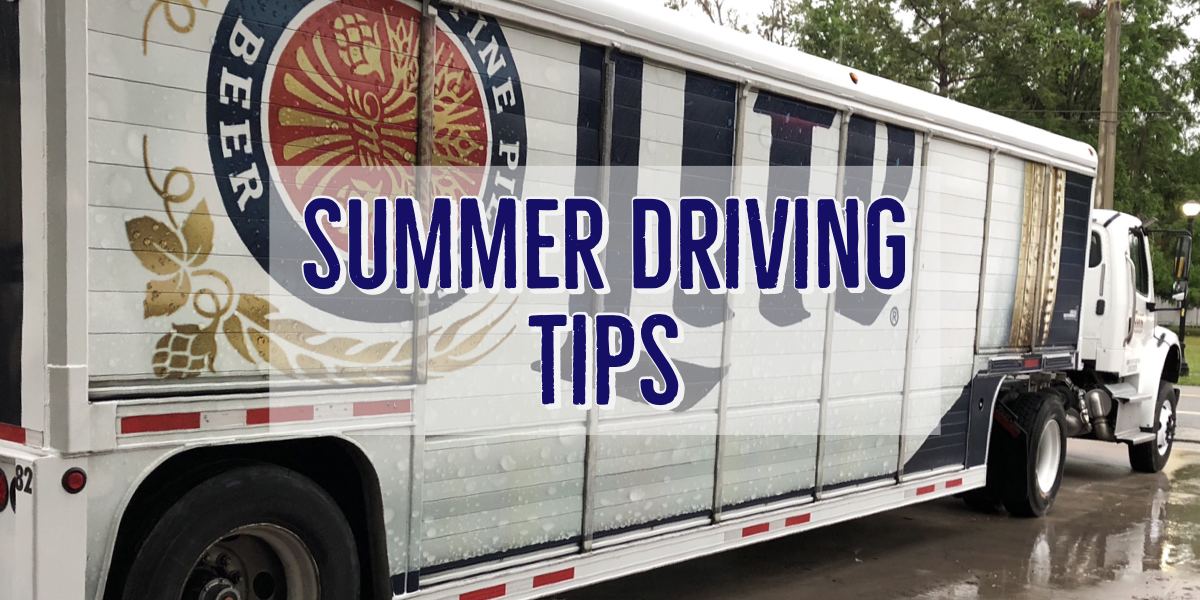 Summer Driving Tips and Beer Truck pic