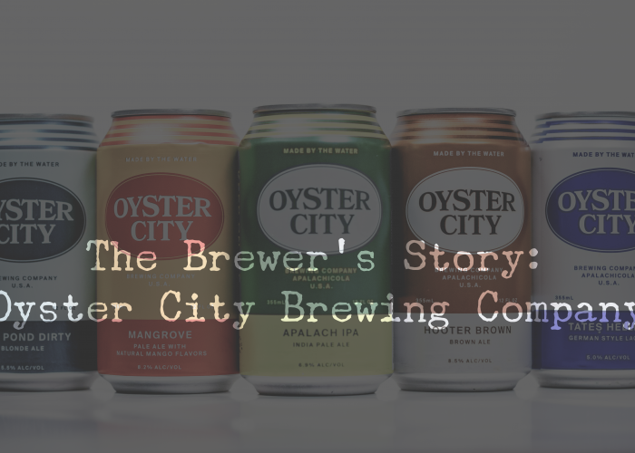 The Brewer's Story: Oyster City Brewing Company