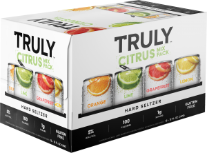 Truly Citrus Variety Mixed Hard Seltzer Pack