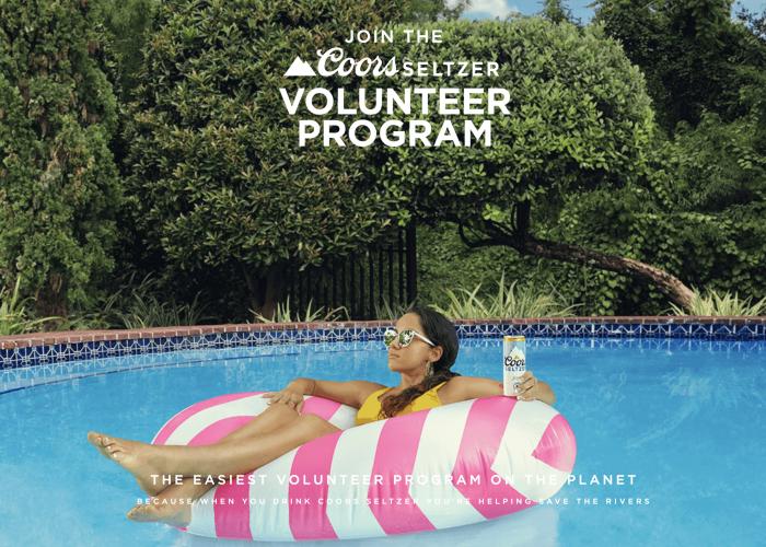 MolsonCoors Coors Seltzer Volunteer Program