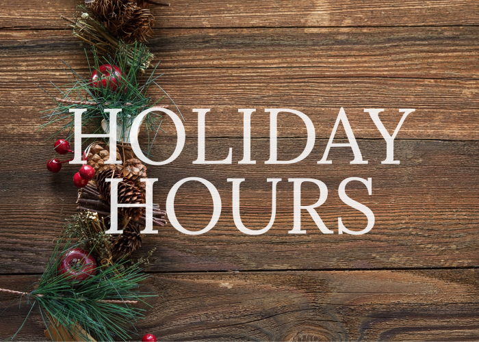 Team Cone Holiday Hours