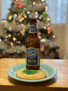 Blue Moon Belgian White and Sugar Cookie