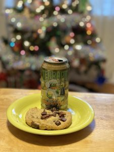 Terrapin Wake N Bake Coffee Oatmeal Imperial Stout and Chocolate Chip Cookie