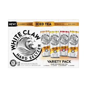 White Claw Iced Tea Variety 12-pk 12oz Can 5percent ABV Front