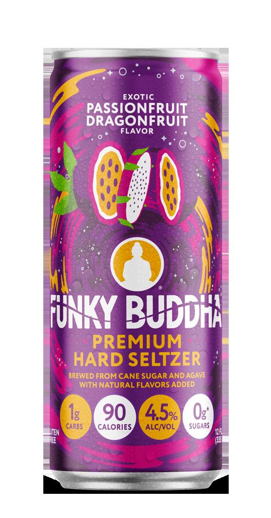 Funky Buddha Premium Hard Seltzer Passionfruit Dragonfruit