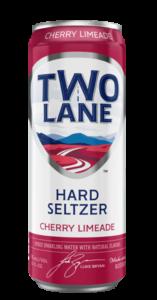 Two Lane Cherry Limeade Hard Seltzer