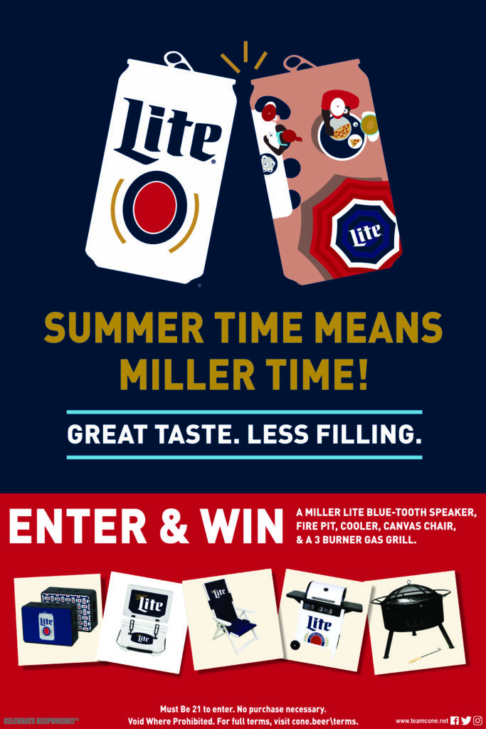 Summer Time Means Miller Time Sweepstakes