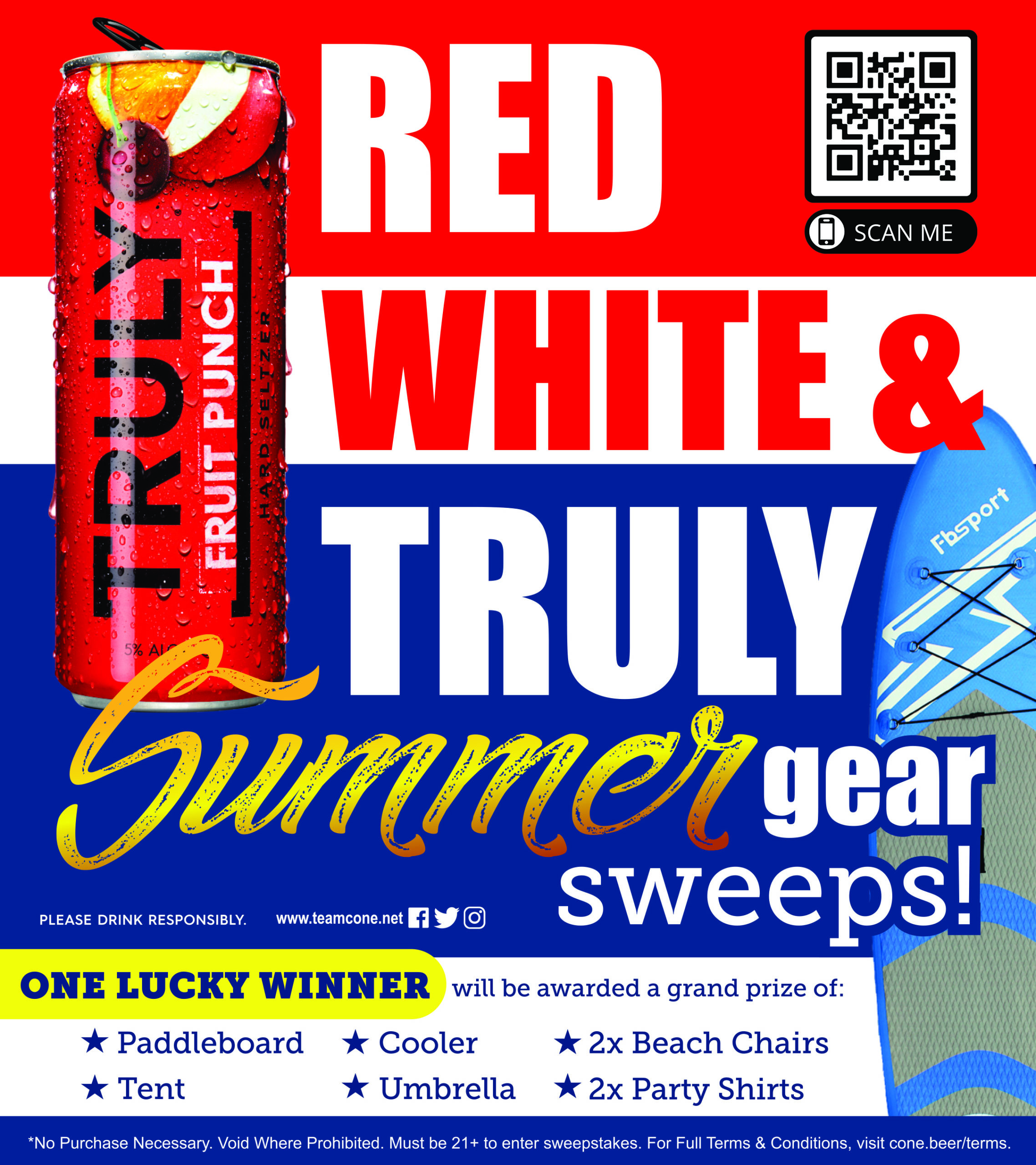 Red, White, and Truly Sweepstakes